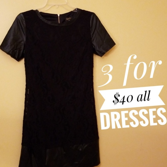 Laundry By Shelli Segal Dresses & Skirts - laundry by Shelli Segal Black Lace Dress